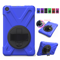For Amazon Kindle Fire HD 8 2017 Tablet Cover 8 Heavy Duty Silicon Fundas Shockproof Armor