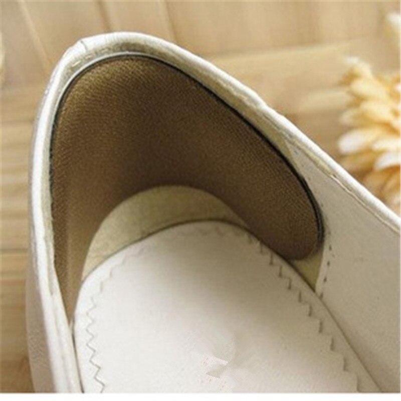 Сгустите Ноги Вставки Половина Двор Добавить Размер Обуви Вставить в Tacones Боль В Пятке Crack Помощи Protetor Calcanhar Износа устойчивостью