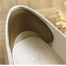 Утепленные стопы вкладыши половина двор в дополнение к обуви Размеры в Tacones боль в пятке чайный набор Crack Relief Protetor носочки с подушечками для износостойкая T047OLD