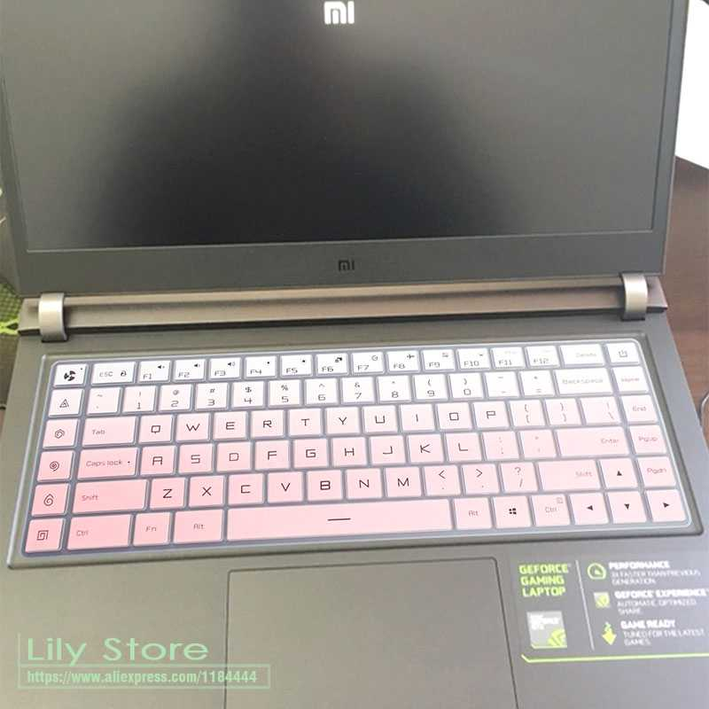 עבור שיאו mi mi Ga mi ng מחשב נייד 15.6 ''i5 GTX 1050 i7 GTX 1060 משחק נייד 15 inch סיליקון מקלדת מגן כיסוי משמר עור
