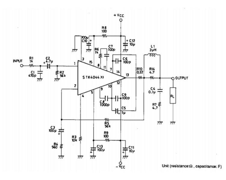 GHXAMP STK4046V Thick Film Amplifier Audio Board 120W*2