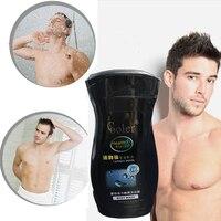 ควบคุมความชุ่มชื้นดูแลผิวเจลอาบน้ำอย่างล้ำลึกทำความสะอาดผู้ชายผม& Bodyห้องอาบน้ำฝักบัว-หลั...