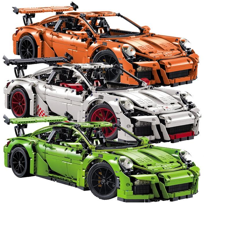 3368 a b c 2726PCS 3368 Car Model Building Kits DECOOL Blocks Toys Bricks legoingly technic 42056 20001 20001B car voiture