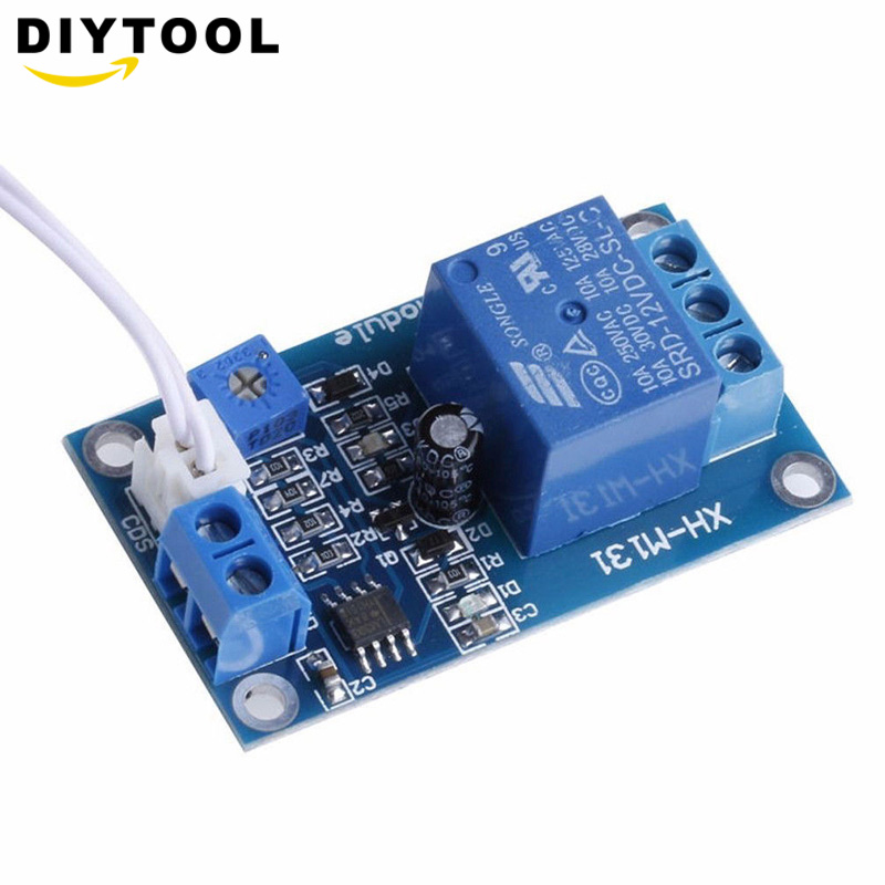 XH-M131 DC 12V Light Control Switch Photoresistor Relay Module Detection Sensor