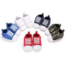 Детская спортивная обувь для маленьких девочек; детская повседневная обувь для новорожденного унисекс для маленьких мальчиков 0-18 месяцев