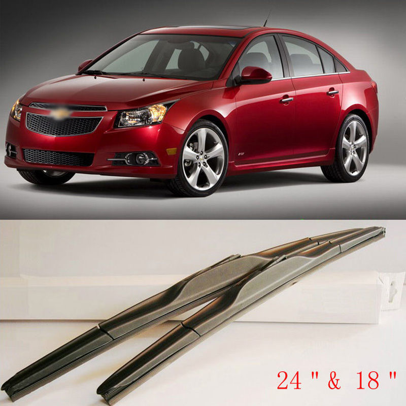 Aerodynamic Frameless Rubber Windshield Wipers Blades For