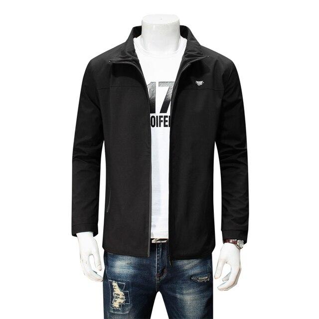 Куртка мужская шляпа плащ 2018 весна и autumnfashion куртка мужская повседневная куртка мужская пальто тонкий мужской пальто размер пальто