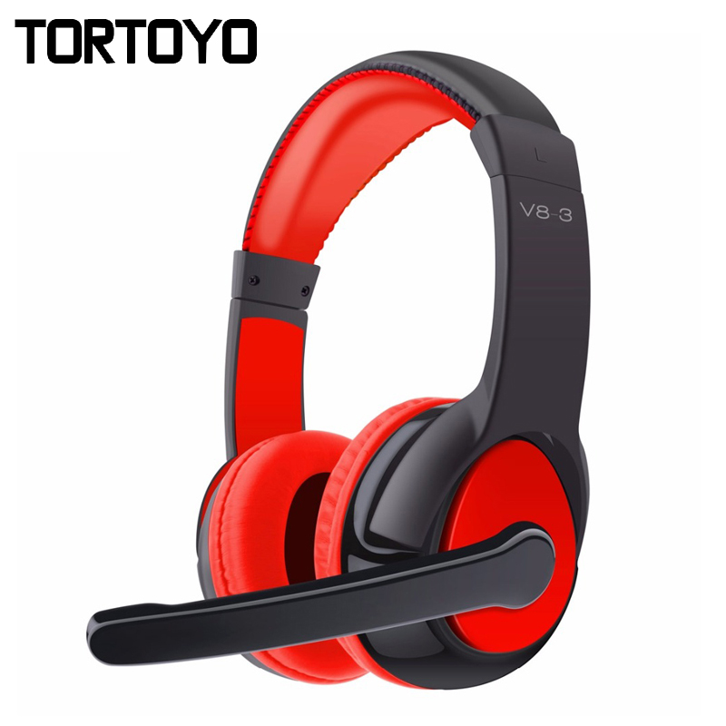 V8-3 Wireless Headphone Stereo Surround Bluetooth 4.0 Headphones Noise Canceling Headset Support TF Card with Mic for Smartphone