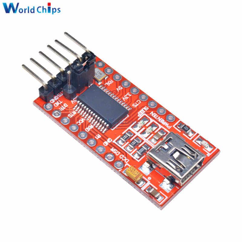FT232RL FT232 FTDI の USB TTL 3.3 V 5.5 V シリアルアダプタモジュールボード Arduino のミニポートトランシーバ信号 TTL CMOS レベル