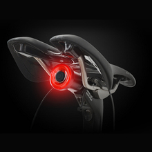 Multi Lighting Modes Bicycle Light Control  Brake Rear Lamp Intelligent Bike Tail USB Rechargeable Flash