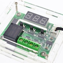 W1209 DC12V прохладный темп термостат переключатель регулирования температуры регулятор температуры термометр контроллер термо + Акриловая Коробка