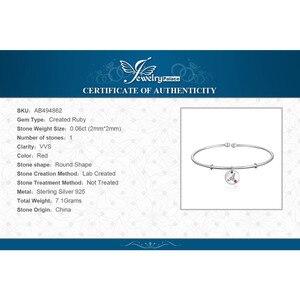 Image 5 - JewelryPalace ตัวอักษรเริ่มต้น Letter 925 เงินสเตอร์ลิง Dangle Charm สร้อยข้อมือกำไลข้อมือสำหรับผู้หญิง 2018 ใหม่