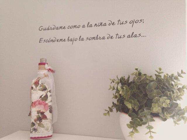 Autocollant mural en vinyle avec citations espagnoles   Sticker mural, avec autocollant