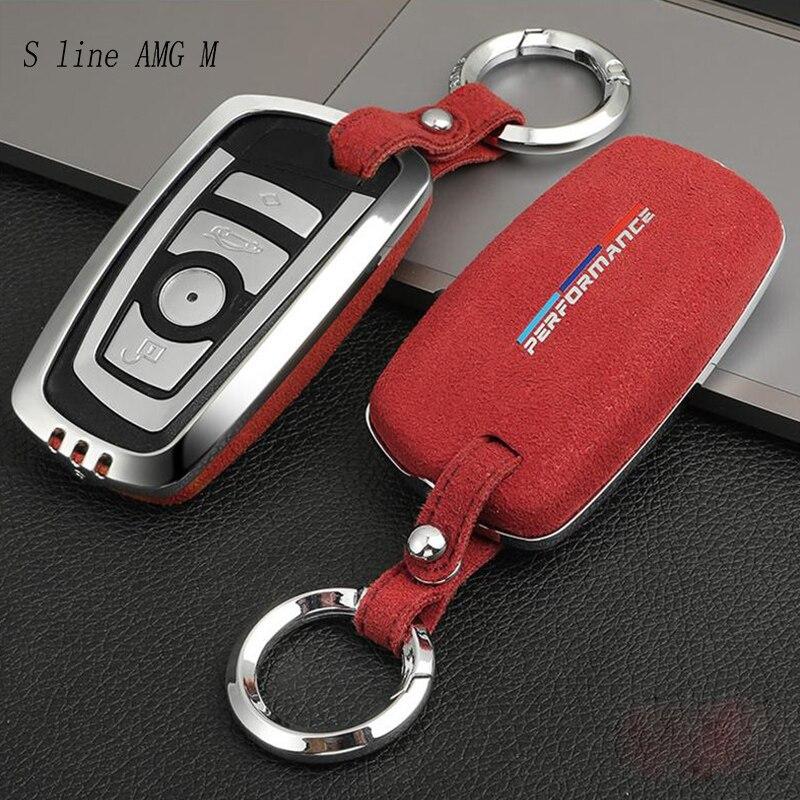 Anéis de Chave Estilo do carro Tampa de Proteção Adesivos Para BMW F10 F30 X3 X4 F25 F26 Proteja Shell Case Capa Interior auto Acessórios