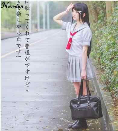 Anime Jepang Love Live Sunshine Cosplay Kostum Takami Chika Gadis Pelaut Seragam Love Live Aqours Seragam Sekolah