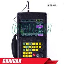 Discount! Digital Ultrasonic Flaw Detector Leeb522  Scanning Range 2.5-10000mm