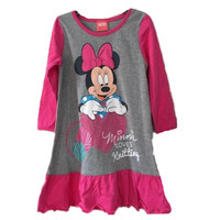 6pcs Lot Brand Girls Dresses Minnie Mouse Nightgown Kids Pajamas Nightgowns Sleepwear Princess Clothes Set 2