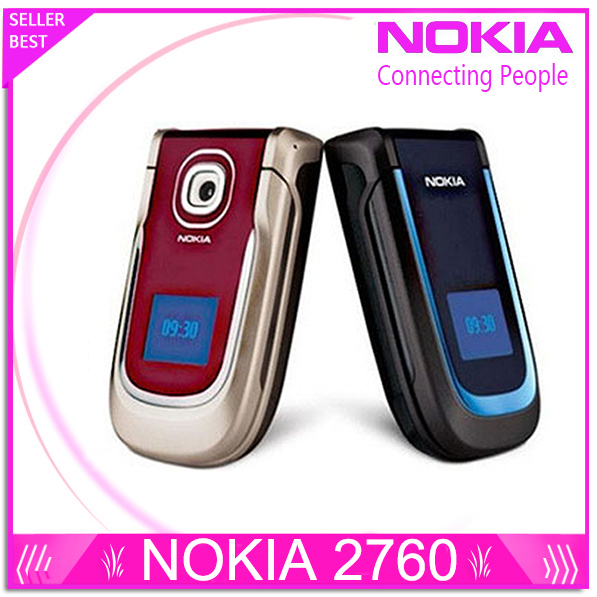 Nokia 2760 original cellphone unlocked phones with camera support russian keyboard and russian menu