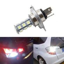7000K 12V White RV Camper Headlight H4 5050 18-LED Light Bulbs Backup Reverse цена
