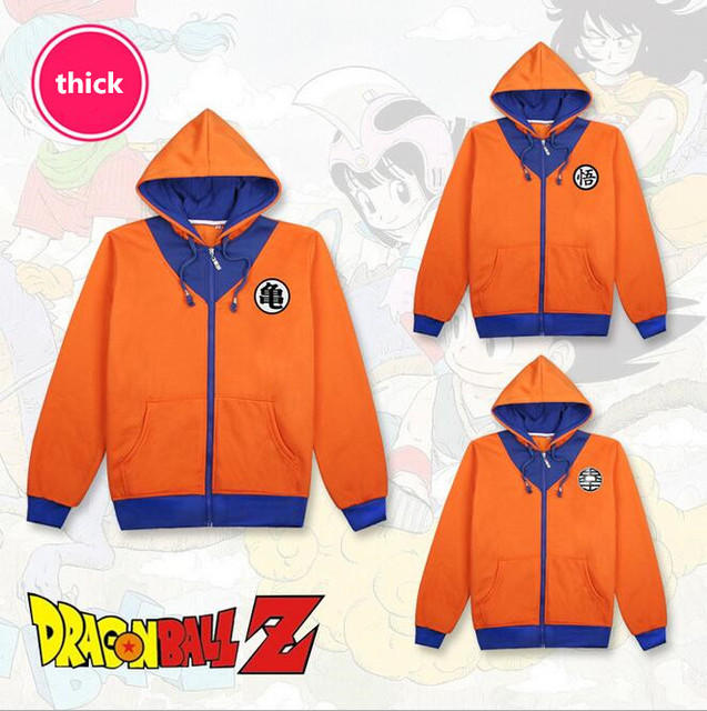 Anime Manga 3 Style Dragon Ball Z Hoodie Cosplay Clothes Sweater New 03