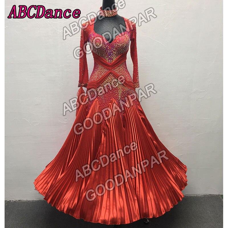 Ballroom Dress Standard Dancing Dress,Modern Waltz Tango Dancewear,Adult Women Professional Dance Costumes