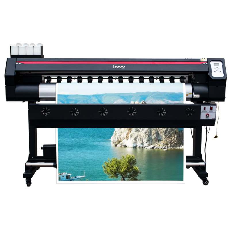 Wholesale 1.6M Eco Solvent Printing Machine Xp600 Single Head Vinyle Printer Digital Printer 160Cm Canvas Printer
