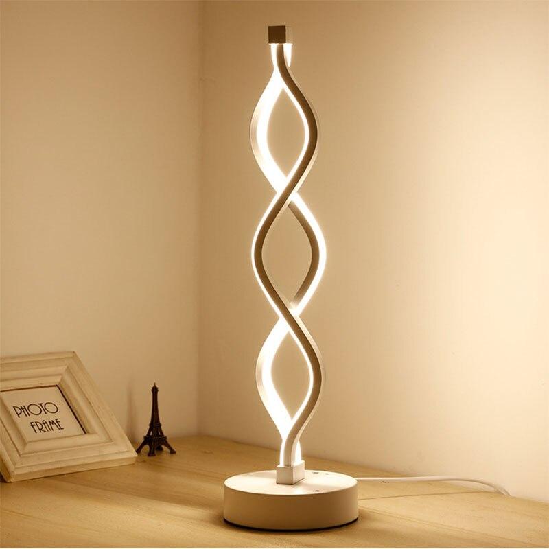 Minimalist Acrylic LED Lamp