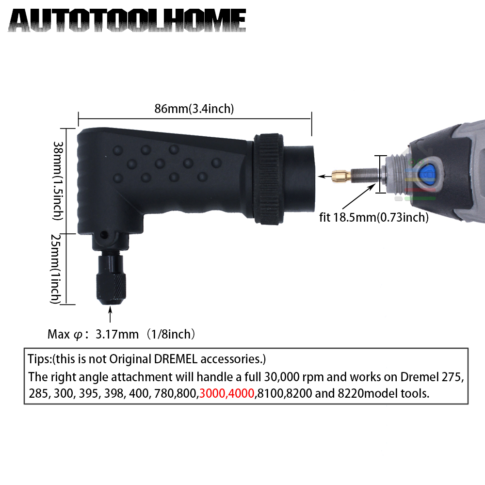 new 575 right angle driver converter rotary tool attachment fit for rh aliexpress com Dremel Miter Box Quick Start Guide