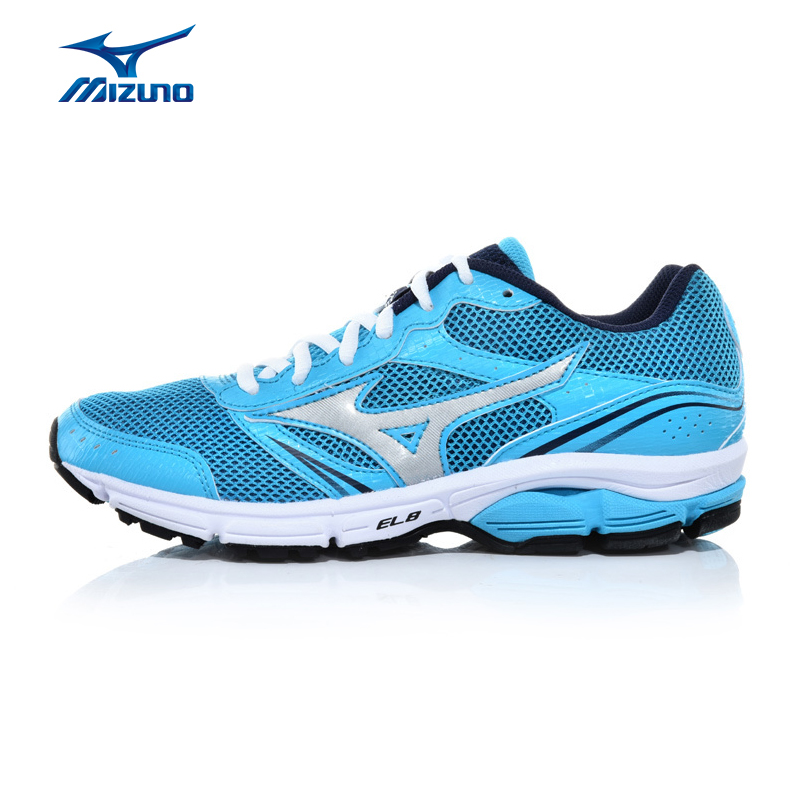MIZUNO Women WAVE IMPETUS 3 Mesh Breathable Light Weight Cushioning Jogging Running Shoes Sneakers Sport Shoes J1GF151304 XYP332 кроссовки mizuno кроссовки wave impetus 3