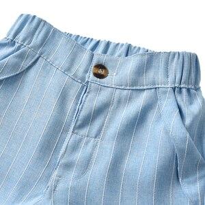 Image 5 - Tem Doger Baby Boy Clothing Sets 2018 Spring Newborn Infant Boy Clothes Shirt+ Pants+Vest 3PCS Suit Bebes Boys Gentleman Costume