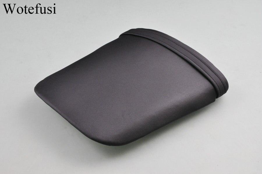 Wotefusi capot de siège de passager arrière en cuir noir chaud pour HONDA CBR 1000 04-07 [PA140]