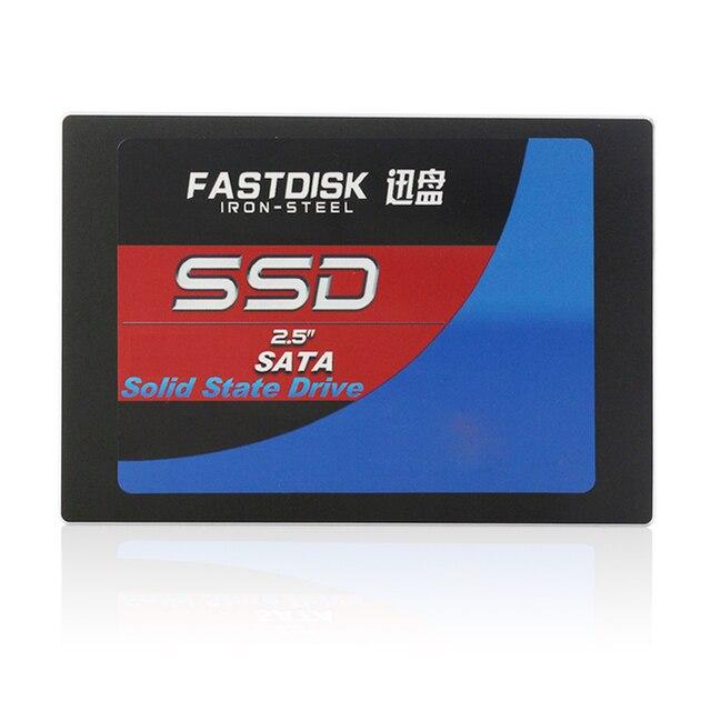 """Fastdisk 2.5 """"SATA de 64 GB 32 GB 16 GB 8 GB 256 GB SSD de 2.5 pulgadas DISCO DURO interno de disco de Estado Sólido SSD para Escritorio y ordenador portátil pc"""