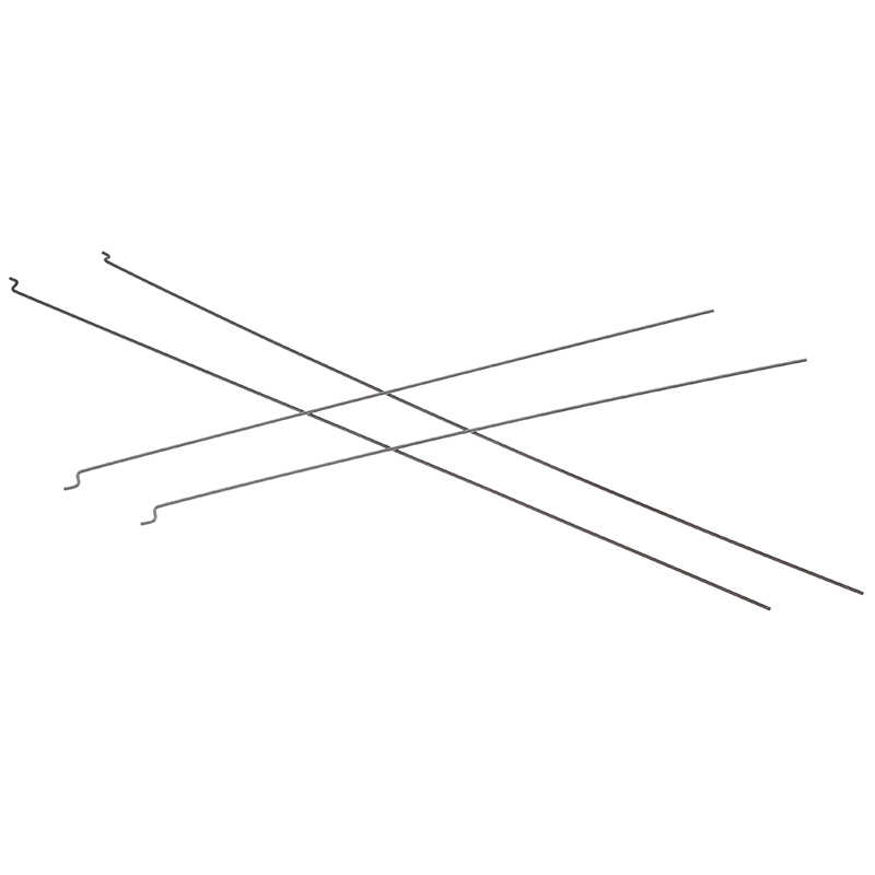 10 sztuk Z typ D1.2mm popychacz drut stalowy push drążek sterowniczy popychacz do zdalnie sterowanego samolotu samolot pull Push korbowód