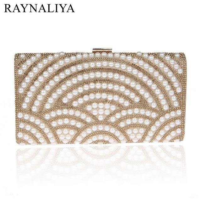 c50aabc68d Big Size Hard Style Rhinestone Evening Bags Pearl Clutches Fashion Women  Shiny Clutch Bag Diamonds Beading Flap SFX-A0021. BLACK FRIDAY SALE ...