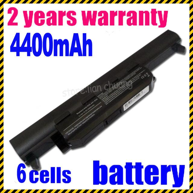 Bateria do portátil para asus a32-k55 a33-k55 x55a jigu a75de-ty026v a75de-ty043v a75vm-ty085v k75a k75d k75v k75vm-ty126v