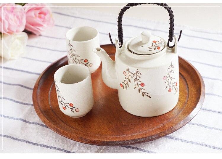 Chinese White Ceramic Kung Fu Tea Set Three Piece Porcelain Teaware Set Chinese Traditions Tea Pot Bone China Tea Sets Tea Cup in Teaware Sets from Home Garden