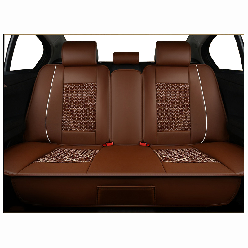 Interior Accessories Car Seat Covers Compatible With 95 Vehicles Cover For Lada Volkswagen Red