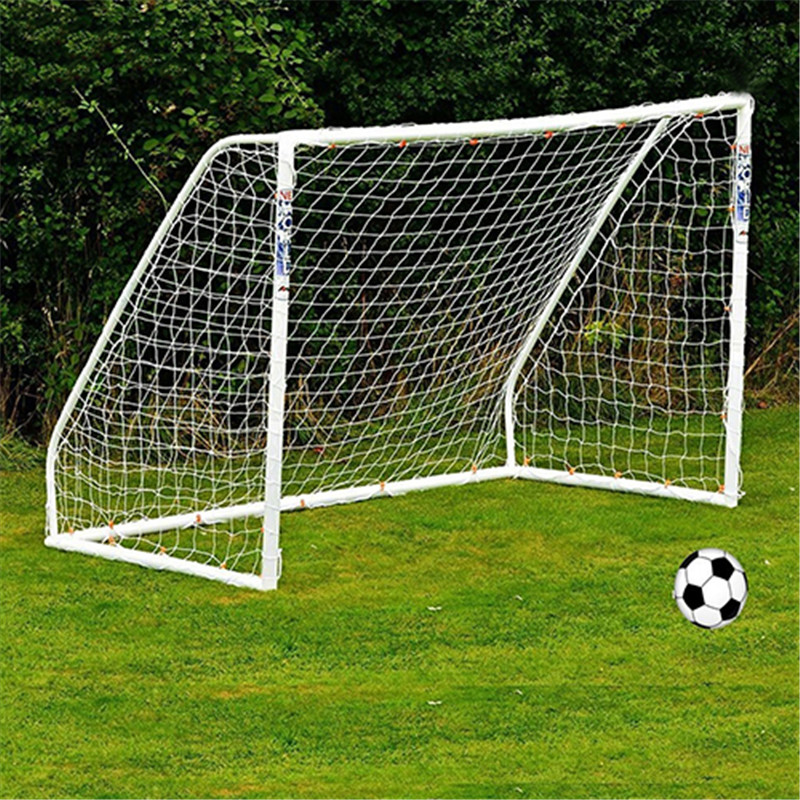 Full Size Football Net for Soccer Goal Post Junior Sports Training 1.8m x 1.2m image