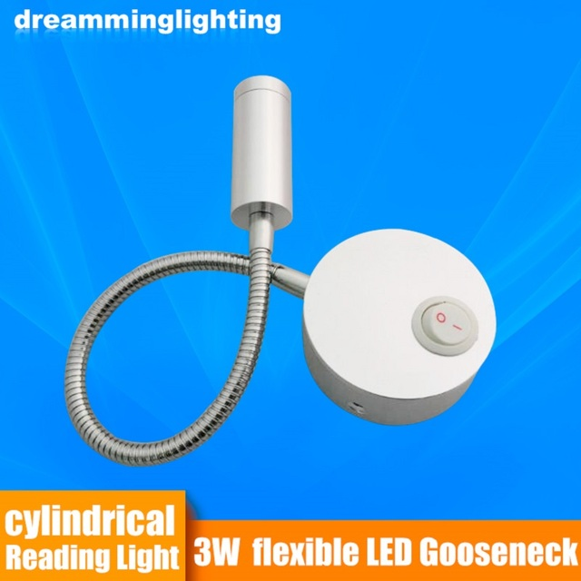 12V LED Reading Light RV Boat Bed Wall Table Light Bed Light Wall Light  Table Lamp