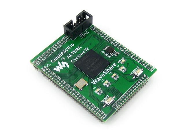 Módulo CoreEP4CE10 Ciclone IV EP4CE10F17C8N EP4CE10 ALTERA CPLD & FPGA Development Core Board com Total IO Expansores