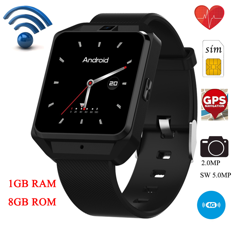Microwear H5 4G Smartwatch Phone 1.54 inch MTK6737 Quad Core 1.1GHz 1G RAM 8G ROM GPS WiFI SIM Card Android 6.0 Bluetooth Watch стоимость