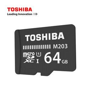 Image 4 - Cartão de memória toshiba m203, original, UHS I 16gb 32gb microsdhc 64gb 128gb microsdxc cartão de classe u1 fullhd tf