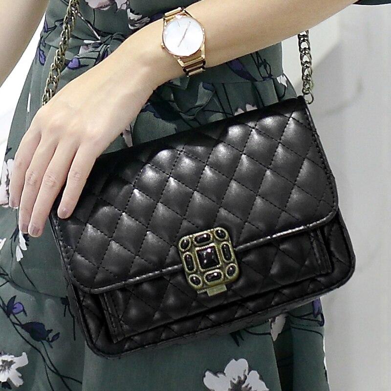 De alta calidad de abalorios de diamante bolsa de las mujeres - Bolsos - foto 6