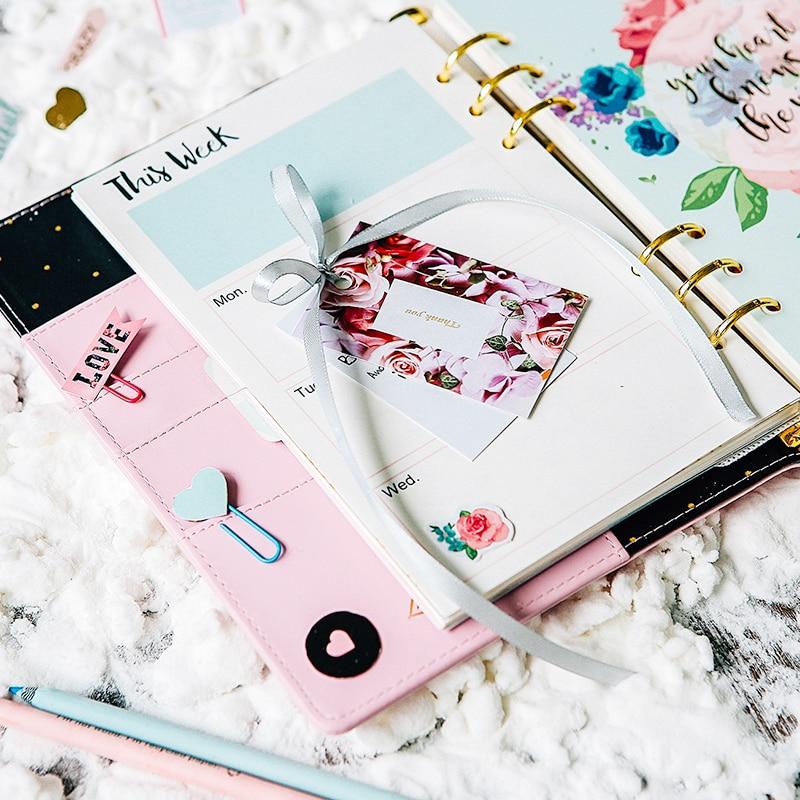 Cadernos planejador diário semanal organizador agenda Design : Four Designs