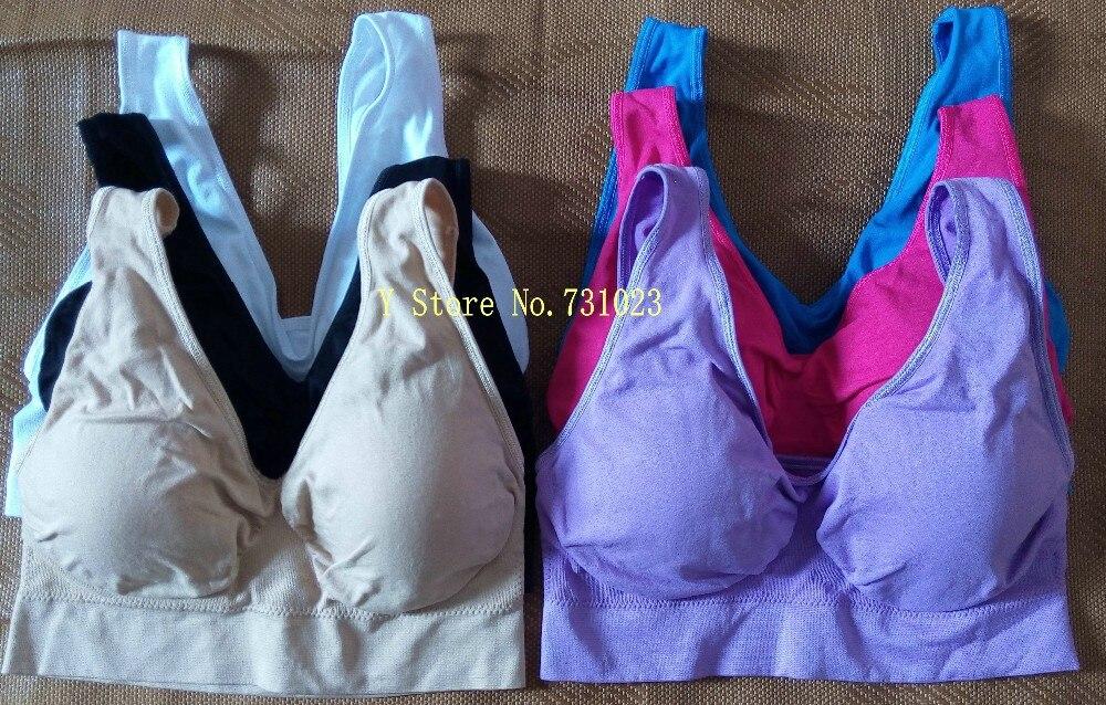 6 цветов, 3 шт./лот, бюстгальтер со съемной губчатой подкладкой, сексуальный бесшовный двухслойный бюстгальтер ahh, корректирующий фигуру, пуш-ап