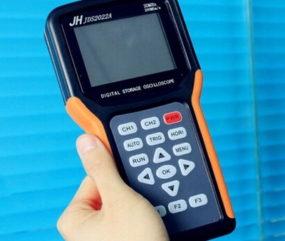JDS2022A Handheld Oscilloscope portable Oscilloscope 20MHz 2 channels Digital Storage dual channels 200M Sa/s