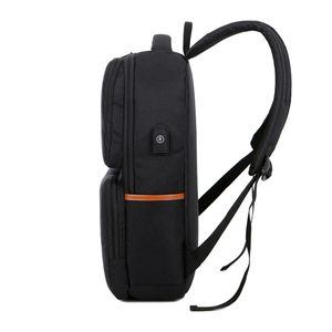 Image 3 - Unisex di Nuovo Modo di Affari Zaino di Tela Da Viaggio USB di trasporto Del Computer Portatile Borsa Del Computer di Grande Capacità Zaino Maschio Femmina Bagaglio