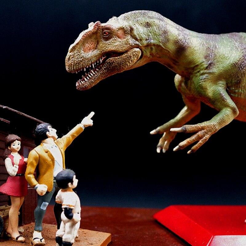 Vendite limitate 300 set Jurassic Modello di Dinosauro Del Mondo Allosaurus Toy Collection 1:35 - 2