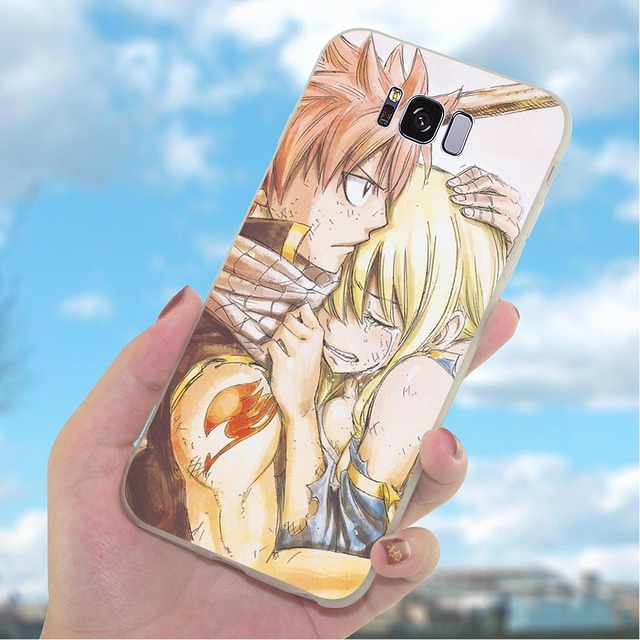 Fairy Tail Phone Case for Galaxy Samsung S9 Cover S10 Plus M10 M20 M30 S7 Edge S6 S8 S10e Note 8 9 Slim