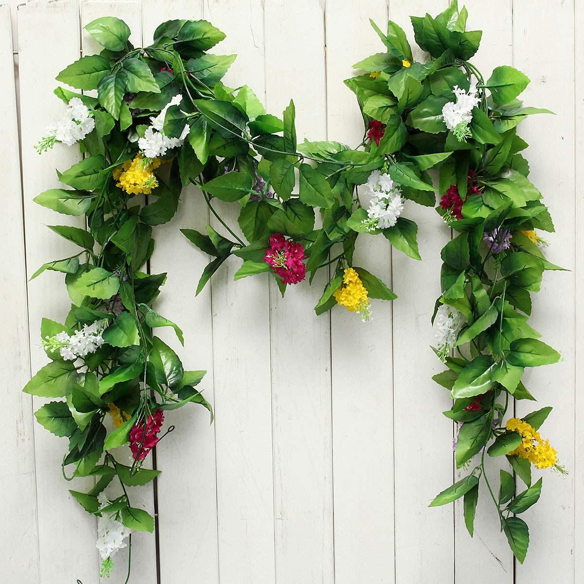 Online get cheap floral foliage alibaba group - Guirlandes de fleurs ...